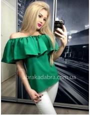 Блузка с открытыми плечами Kim
