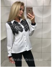 Блуза с гипюром Greatis