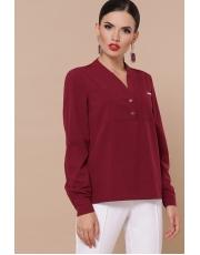 Женская рубашка без воротника Zhanna