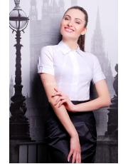 Классическая белая женская рубашка Norma