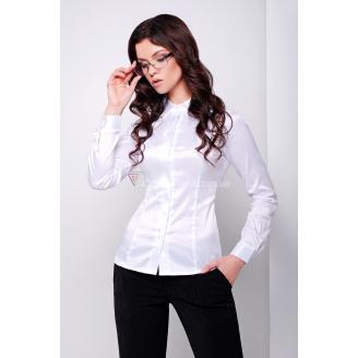 Женская классическая белая рубашка Norma2