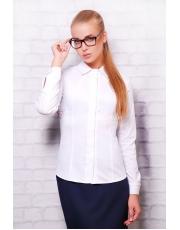 Женская блуза из бенгалина с длинным рукавом Norma