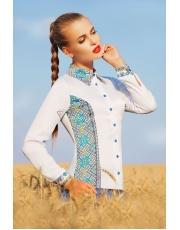 Блуза женская в орнаментом Vishi