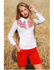 Блуза рубашка женская с вышивкой Galya