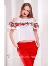 Блуза с открытыми плечами Flow