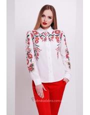 Женская блуза с цветочным принтом Leila