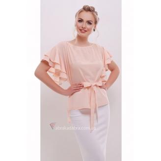 Блуза с воланами на рукавах B'yanka