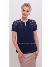Блуза с кружевными рукавами Ilva