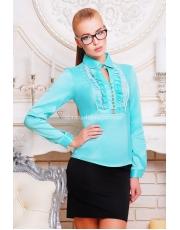 Блуза женская с жабо Zhabo