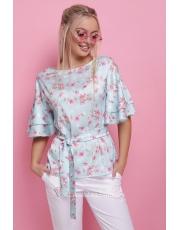 Блуза с воланами на рукавах Mirabel