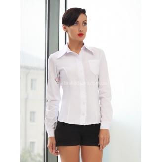 Женская классическая рубашка в мужском стиле Marta