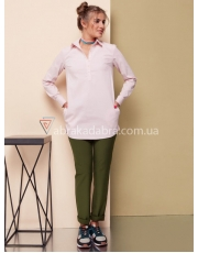 Рубашка-туника женская с карманами Laura