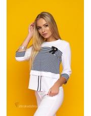 Блуза женская в полоску Simona