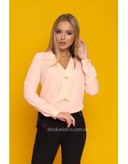 Блуза женская с галстуком-завязкой Doroti