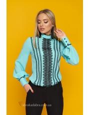Блуза с объемными рукавами Juli