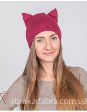 Шапка женская с ушками Cat