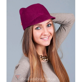 Фетровая шляпка с ушками Kitty