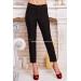 Женские зауженные брюки из костюмного шелка Keyt