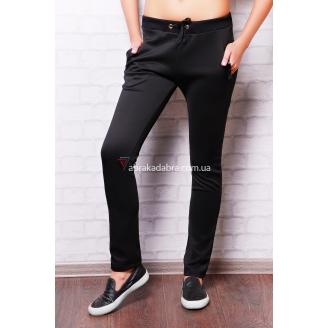 Женские черные брюки спортивного стиля из дайвинга Sigma