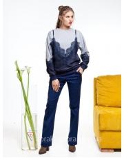 Женские джинсы-клеш Mira
