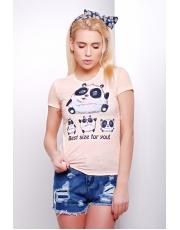 Женская футболка с пандой Size panda