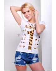 Женская футболка номер один Number1