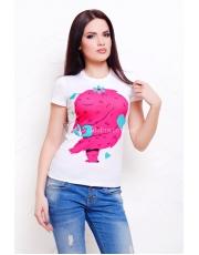 Женская футболка с корпорация монстров Monstrik