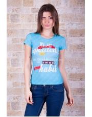 Яркая неординарная женская футболка Exellence