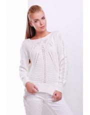 Женский свитер ажурной вязки Sofi