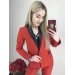 Красный костюм брючный с лампасами Bery