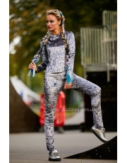 Женский спортивный велюровый костюм Vivere