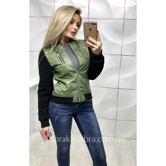 Куртка бомбер женская Mili