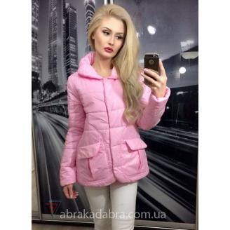 Короткая женская куртка с накладными карманами Kari