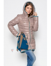 Зимняя куртка женская  с шарфом NewWoman