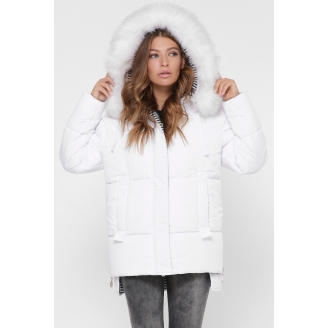 Женская зимняя куртка с мехом LS-8840