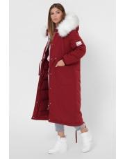 Зимняя куртка парка длинная LS-8850