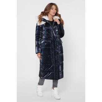 Женская зимняя куртка длины миди LS-8851
