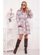 Женское пальто в клетку Daria