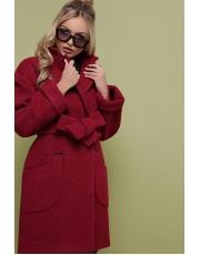 Демисезонное пальто под пояс Veronika
