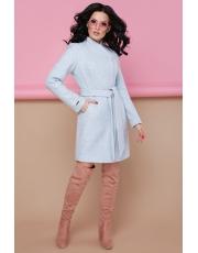 Приталенное пальто под пояс Narin