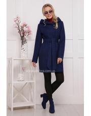 Укороченное женское пальто с капюшоном Meri