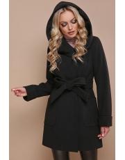Зимнее пальто с капюшоном Black