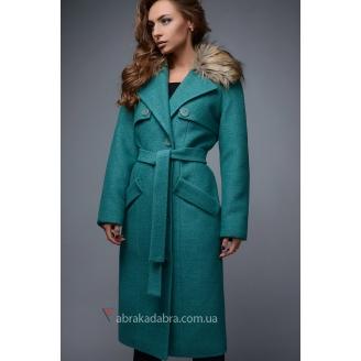 Зимнее пальто женское Green