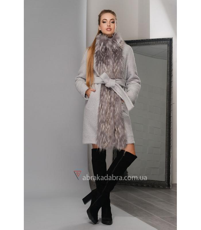 Зимнее женское пальто с мехом купить c7959ae21e0
