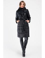 Зимнее стеганное пальто LS-8808