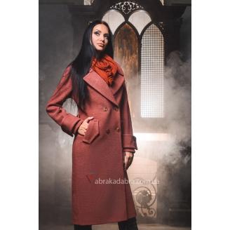 Классическое двубортное женское пальто Viva