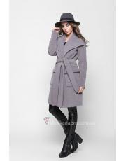 Пальто женское с накладными карманами Lili