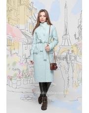 Пальто женское под пояс Barbara