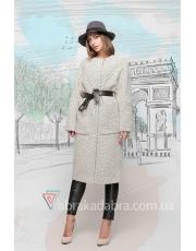 Пальто женское с накладными карманами Natali