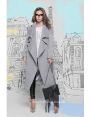 Длинное пальто по пояс Maxima